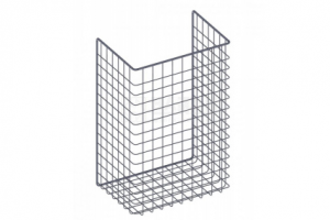 Корзина для белья откидная 340х525х230 - Оптовый поставщик комплектующих «НАЙДИ»