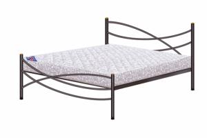 Кованая кровать Волна - Мебельная фабрика «Русон»