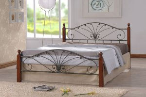 Кованная кровать MARA - Импортёр мебели «ТМК»