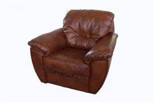 Кожаное кресло Марсель - Мебельная фабрика «Финнко-мебель»