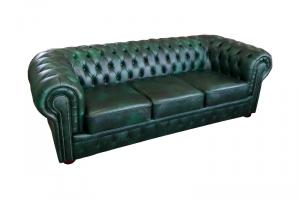 кожаный диван Честер - Мебельная фабрика «Финнко-мебель»