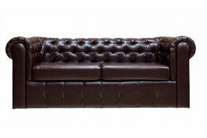 Кожаный диван Честер - Мебельная фабрика «Астмебель»