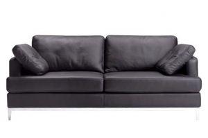 Кожаный диван Грей - Мебельная фабрика «Поволжье Мебель»