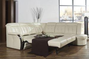 Кожаный диван-кровать Andorra - Импортёр мебели «Рес-Импорт»
