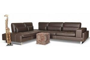 Кожаный диван Lorenzo - Мебельная фабрика «Ангажемент»