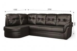Кожаный угловой диван Флоренция - Мебельная фабрика «ГОСТМебель»