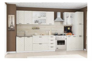 Красивая белая кухня Тоскана - Мебельная фабрика «PDM-мебель»