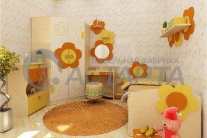 Красивая детская мебель Ангелина - Мебельная фабрика «Астарта»