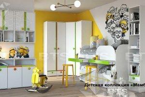 Красивая детская мебель Мамба - Мебельная фабрика «BTS»