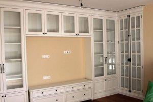Красивая гостиная из массива - Мебельная фабрика «Курдяшев-мебель»