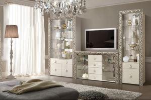 Красивая гостиная Тиффани премиум - Мебельная фабрика «Ярцево»
