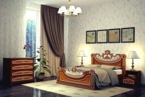 Красивая кровать Глория - Мебельная фабрика «DM- darinamebel»