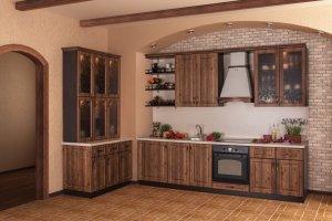 Красивая кухня Мария - Мебельная фабрика «ВиАл»