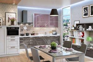Красивая кухня модерн Гретта - Мебельная фабрика «Кухонный двор»