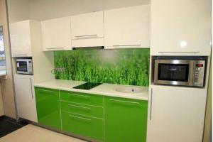красивая прямая кухня - Мебельная фабрика «Династия»