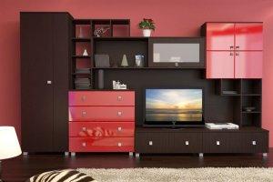 Красивая современная гостиная МС 20 - Мебельная фабрика «Алекс-Мебель»