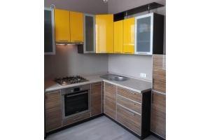 Красивая современная кухня угол - Мебельная фабрика «Мебель и Я»