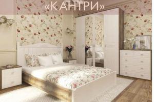 Красивая спальня Кантри - Мебельная фабрика «Регина»