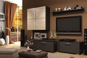 Красивая стенка в гостиную - Мебельная фабрика «Интерьер»