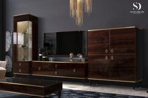 Красивая темная гостиная Rimini - Мебельная фабрика «Ярцево»