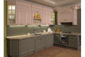 Красивая угловая кухня БЕРТИНА - Мебельная фабрика «Энгельсская (Эмфа)»