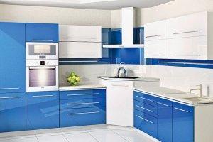 Красивая угловая кухня из МДФ - Мебельная фабрика «Елиза»