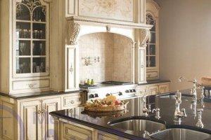 Красивая Винтажная кухня - Мебельная фабрика «ДиВа мебель»