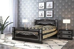 Красивая высокая кровать Царица - Мебельная фабрика «DM- darinamebel»