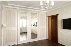 Красивый классический шкаф-купе - Мебельная фабрика «Подольск»
