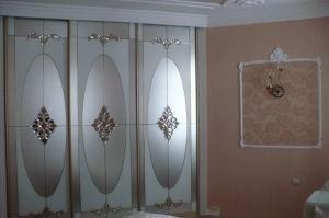 Красивый шкаф-купе в спальню Премиум - Мебельная фабрика «Магия кухни»