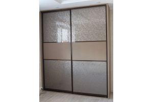 Красивый шкаф-купе комбинированный - Мебельная фабрика «Симбирский шкаф»