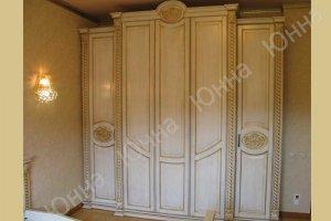 Красивый светлый шкаф из дерева - Мебельная фабрика «ЮННА»