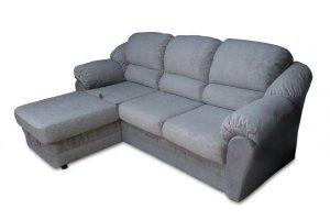 красивый угловой диван с оттоманкой Комфорт - Мебельная фабрика «Viotorri»