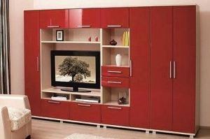Красная гостиная Мальвина - Мебельная фабрика «Мир Нестандарта»