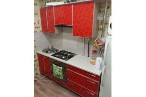 Красная кухня МДФ розы - Мебельная фабрика «Народная мебель»