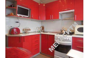 Красная угловая кухня - Мебельная фабрика «Мега Сити-Р»