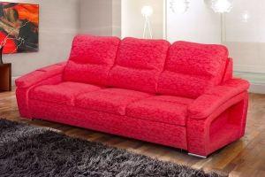 Красный диван дельфин Дублин - Мебельная фабрика «Катрина»