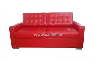 Красный прямой диван Эдем - Мебельная фабрика «Карс-М»