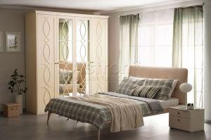 Кремовый гарнитур для спальни G125 - Мебельная фабрика «Астрон»