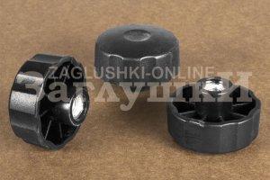 Крепеж Ручка гайка D42 М8 Артикул Б42М8ЧН - Оптовый поставщик комплектующих «Заглушки»