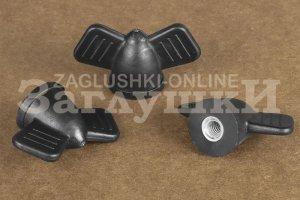 Крепеж Ручка гайка D44 М6 - Оптовый поставщик комплектующих «Заглушки»