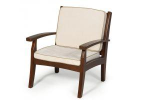 Кресло Аристократ из массива лиственницы - Мебельная фабрика «Леда»