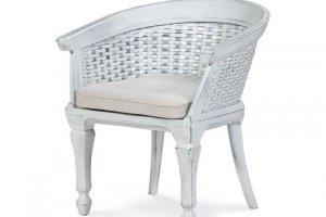 Кресло Бахчисарай плетеное с матрацем - Мебельная фабрика «Леда»