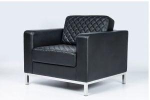 Кресло Бентли Хром экокожа - Мебельная фабрика «ДиванХаус»