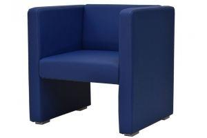 Кресло Бриф синий - Мебельная фабрика «Мебелик»