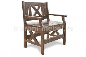 Скамья Кресло Дубрава Т010015 - Мебельная фабрика «Муром-Мебель»
