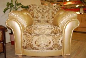 Кресло кожаное Джастин - Мебельная фабрика «Котка»