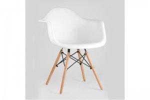 Стул Кресло Eames белое - Мебельная фабрика «Мебель-Покупай»