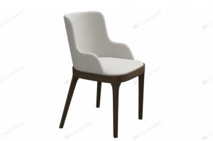Кресло Garda с мягким сиденьем и гнутой мягкой спинкой - Мебельная фабрика «Лидер»