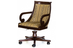Кресло Глори-2 на колесиках - Мебельная фабрика «Стелла»